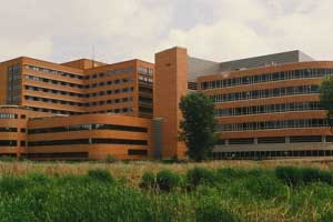 Park Nicollet Methodist Hospital near Minneapolis, one of the hospitals in the Western Wisconsin Rural Family Medicine Residency Program
